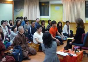 2012台北舉辦香巴拉訓練第一階