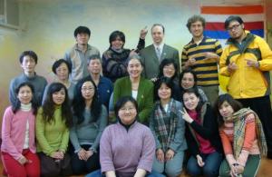 香巴拉台北禪修小組與香巴拉阿闍黎Acharya Arawana Hayashi合照