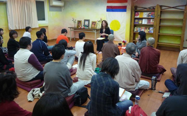 2011年香巴拉老師Marlow Brooks在台北教授香巴拉訓練第一階